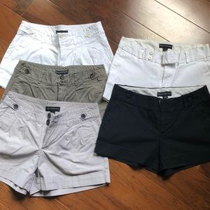 Banana Republic 5 Item Shorts Lot In Size 4